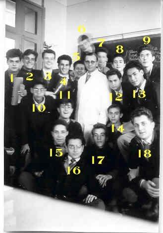 M.Pequignat et ses élèves